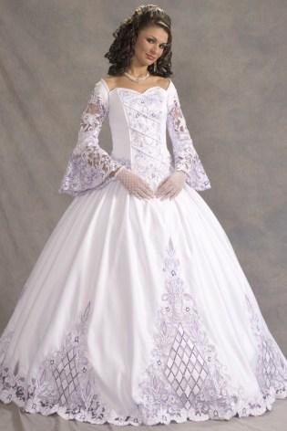 40 High Low Long Sleeve Modern Wedding Dresses Ideass 23