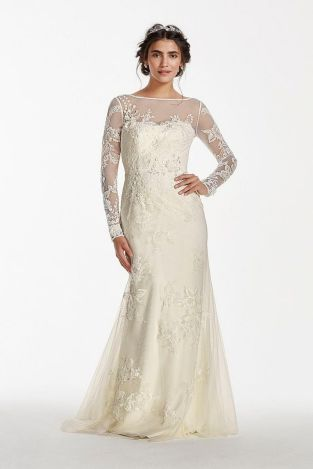 40 High Low Long Sleeve Modern Wedding Dresses Ideass 25