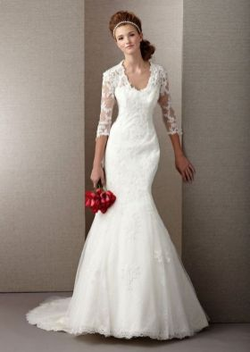 40 High Low Long Sleeve Modern Wedding Dresses Ideass 29