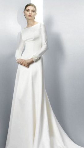 40 High Low Long Sleeve Modern Wedding Dresses Ideass 3