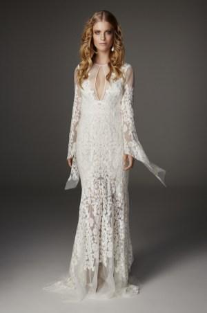 40 High Low Long Sleeve Modern Wedding Dresses Ideass 32