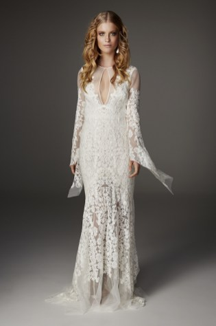 40 High Low Long Sleeve Modern Wedding Dresses Ideass 32