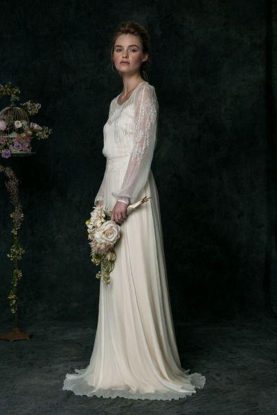 40 High Low Long Sleeve Modern Wedding Dresses Ideass 33