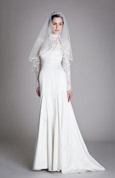40 High Low Long Sleeve Modern Wedding Dresses Ideass 39