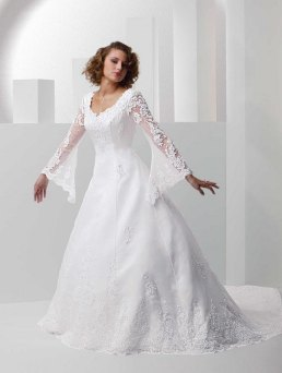 40 High Low Long Sleeve Modern Wedding Dresses Ideass 7
