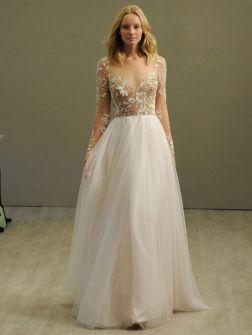 40 High Low Long Sleeve Modern Wedding Dresses Ideass 8