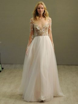 40 High Low Long Sleeve Modern Wedding Dresses Ideass 8