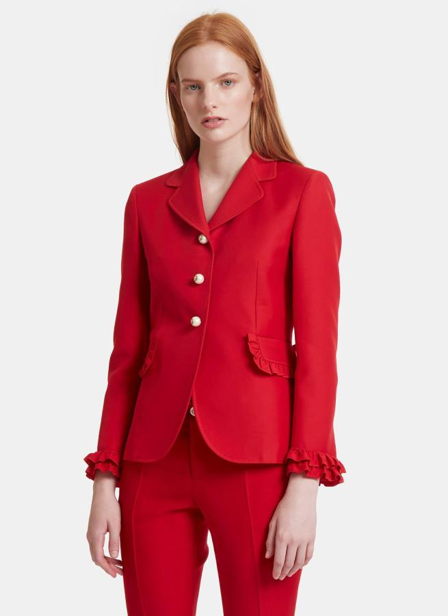 40 Womens red blazer jackets ideas 38