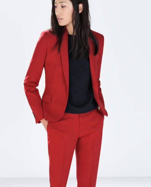 40 Womens red blazer jackets ideas 48