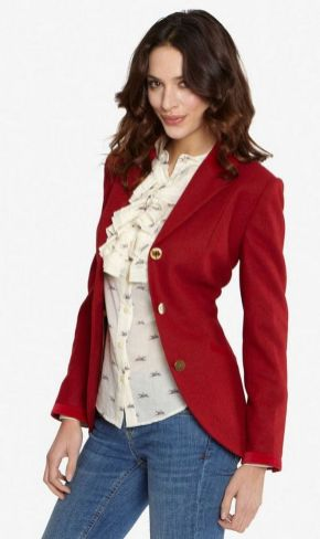 40 Womens red blazer jackets ideas 7