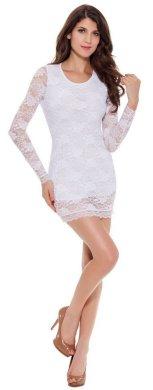 40 all white club dresses ideas 10