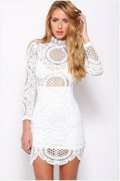 40 all white club dresses ideas 15