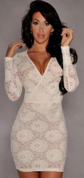 40 all white club dresses ideas 16