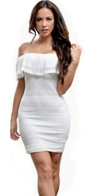 40 all white club dresses ideas 21