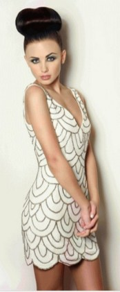 40 all white club dresses ideas 3