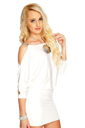 40 all white club dresses ideas 38