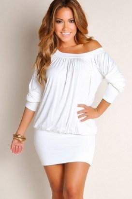 40 all white club dresses ideas 6