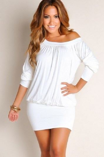 40 all white club dresses ideas 6