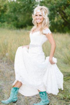 40 wedding dresses country theme ideas 1