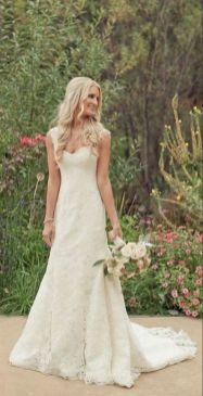 40 wedding dresses country theme ideas 10