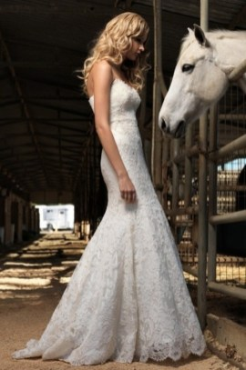 40 wedding dresses country theme ideas 20
