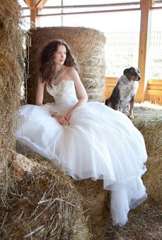 40 wedding dresses country theme ideas 34