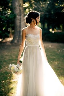 40 wedding dresses country theme ideas 37