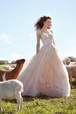 40 wedding dresses country theme ideas 38