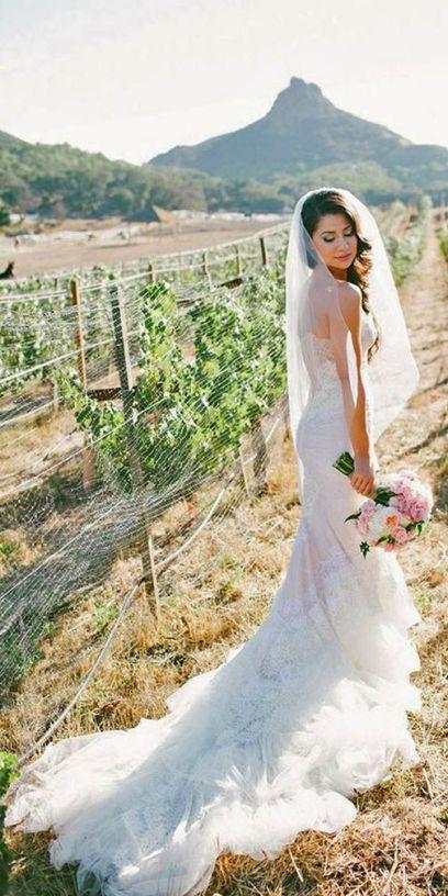 40 wedding dresses country theme ideas 42