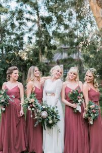 50 Amazing bridesmaid dresses for a country wedding 14