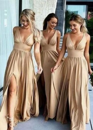 50 Amazing bridesmaid dresses for a country wedding 17