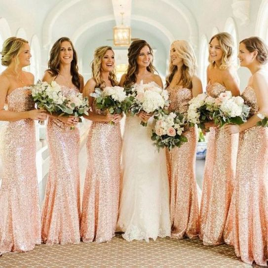 50 Amazing bridesmaid dresses for a country wedding 18