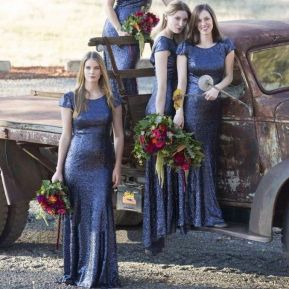 50 Amazing bridesmaid dresses for a country wedding 23
