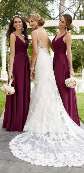 50 Amazing bridesmaid dresses for a country wedding 33