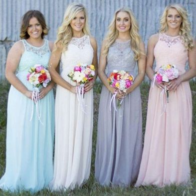 50 Amazing bridesmaid dresses for a country wedding 4