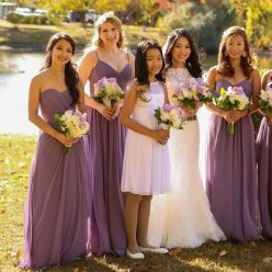 50 Amazing bridesmaid dresses for a country wedding 43