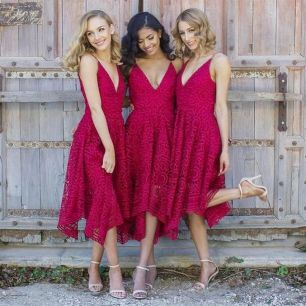50 Amazing bridesmaid dresses for a country wedding 45
