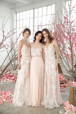 50 Amazing bridesmaid dresses for a country wedding 48