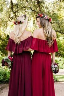 50 Amazing bridesmaid dresses for a country wedding 49