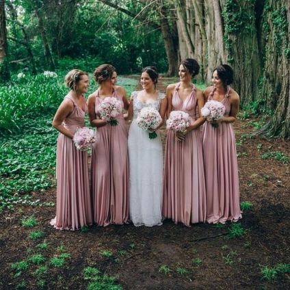50 Amazing bridesmaid dresses for a country wedding 9