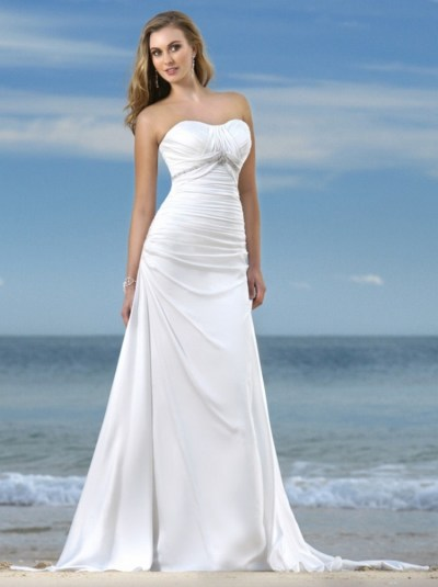50 simple and sexy wedding dresses for the beach 19