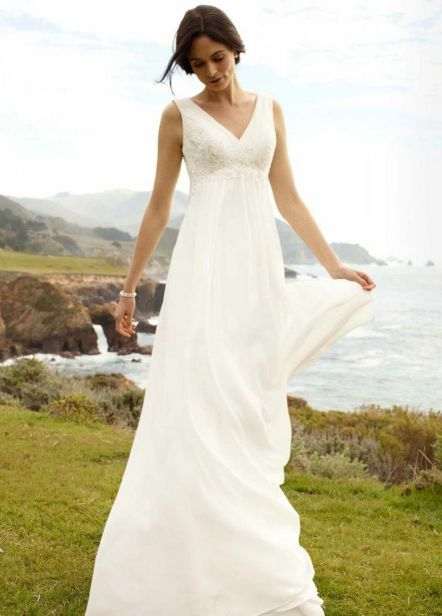 50 simple and sexy wedding dresses for the beach 30