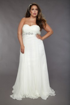 50 simple and sexy wedding dresses for the beach 39