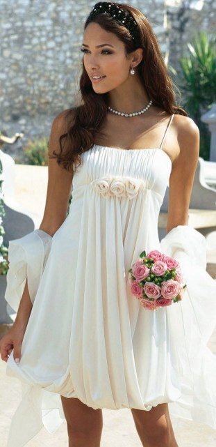 50 simple and sexy wedding dresses for the beach 40