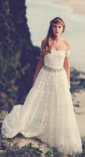 50 simple and sexy wedding dresses for the beach 52