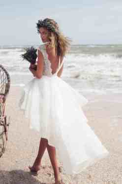 50 simple and sexy wedding dresses for the beach 7