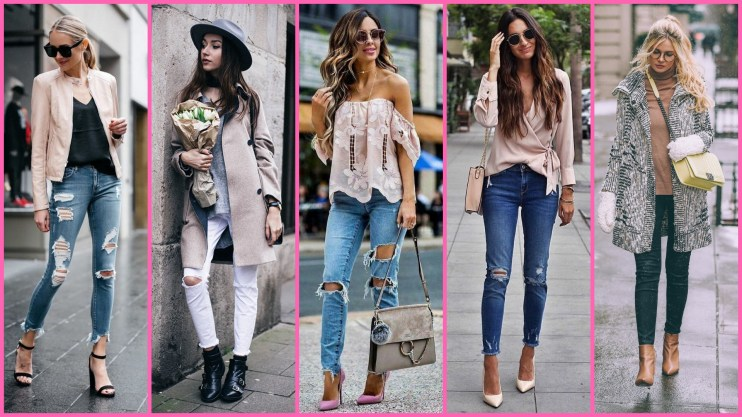 50 world of jeans cute winter outfits