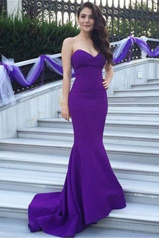 60 Trends About Simple Sweet Heart Mermaid Sexy Long Bridesmaid Dress 5 1