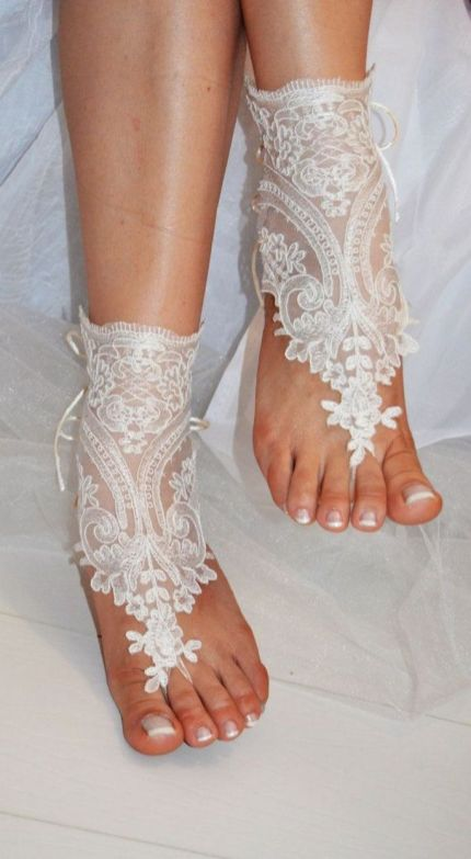 Beach Wedding Shoes and Sandals ideas 27