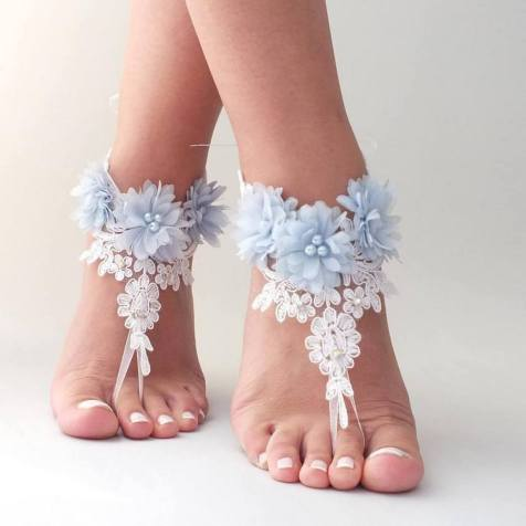 Beach Wedding Shoes and Sandals ideas 8